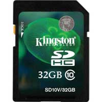 Kingston 32GB CLASS 10 FLASH SDHC