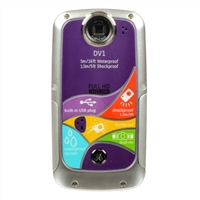 GE DVI 5.0 Megapixel Waterproof Digital Camera Refurbished - Graphite Gray