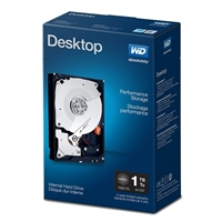 "WD Performance 1TB 7200 RPM SATA III 6Gb/s 3.5"" Desktop Internal Hard Drive WDBSLA0010HNC-N"