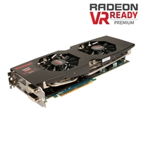 Diamond R9290XD54GV2 R9-290X Dua Fan 4GB GBDDR5 PCIe 3.0x16 Video Card