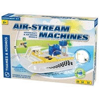 Thames And Kosmos Air Stream Machines Experiment Kit