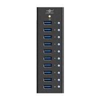 Vantec 10-Port USB 3.0 Aluminum Hub