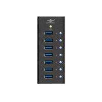 Vantec 7-Port USB 3.0 Aluminum Hub