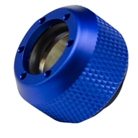 PrimoChill Rigid Revolver Diamond Knurled Grip - Anodized Blue