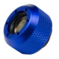PrimoChill Rigid Revolver Diamond Knurled Grip - Anodized Blue - 4 Pack