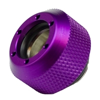 PrimoChill Rigid Revolver Diamond Knurled Grip - Anodized Purple