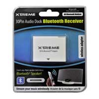 Xtreme Cables 30 Pin Audio Dock Bluetooth Receiver