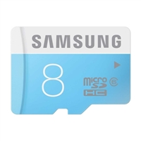 Samsung 8GB Class 6 micro SD Card with Adapter