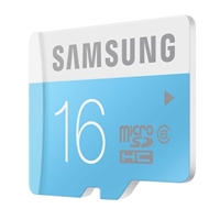 Samsung 16GB Class 6 Micro SDHC Memory Card with Adapter