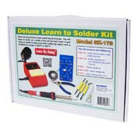 Elenco Deluxe Learn to Solder Kit