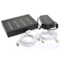 BuyAHash 20-Port USB 2.0 Hub w/ Power Supply