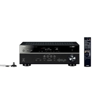 Yamaha Electronics RX-V477BL 5.1 Channel Network AV Receiver