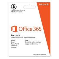 Microsoft Office 365 Personal - 1 Year