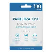 InComm Pandora One - 6 Month $30