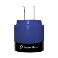 iEssentials Dual USB Wall Charger - Blue