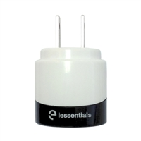 iEssentials Dual USB Wall Charger - White