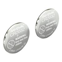 Rayovac Lithium Keyless Entry Battery KECR2032-2A 2-Pack