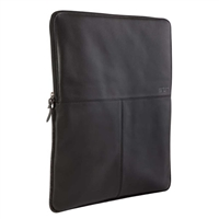 "STM Leather Sleeve Fits Screens up to 11"" - Black"