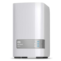 "WD My Cloud Mirror 4TB 3.5"" NAS External Desktop Hard Drive"