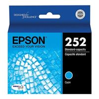 Epson T252220 Standard Cyan Ink Cartridge