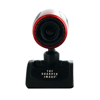 Sharper Image Pro Webcam SCA501RD - Red