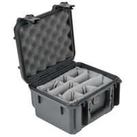 "SKB Corporation Small Military-Standard Case 6"" Deep with Padded Dividers"