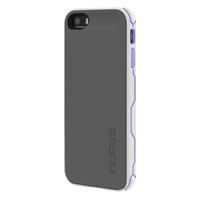 Incipio Technologies offGRID Rugged Battery Case for iPhone 5/5s - White/Purple