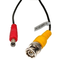 100 ft. Video and Power Cable with extensions for CCTV Security Systems