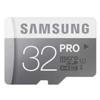 Samsung 32GB Class 10 Pro Micro SD Card with Adapter