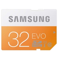 Samsung 32GB EVO SDHC Class 10 / UHS-1 Flash Memory Card