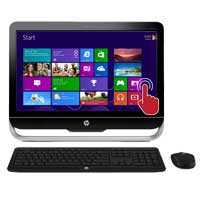 "HP Pavilion 23-f261 23"" TouchSmart All-in-One Desktop Computer Refurbished"