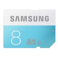 Samsung 8GB SDHC Class 6 Media Card+ Adapter