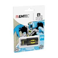 Emtec International C600 USB 2.0 8GB Flash Drive BATMAN