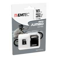 Emtec International 16GB microSDHC Class 10 / UHS-1 Flash Memory Card with Adapter