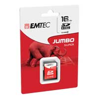 Emtec International 16GB Class 4 Secure Digital High Capacity SDHC Memory Card ECMSD16GHC4