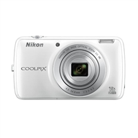 Nikon Coolpix S810c 16.0 Megapixel Digital Camera - White