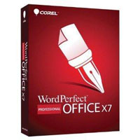 Corel WordPerfect Office X7 - Professional Edition (PC)