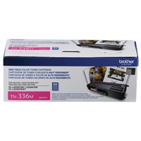 Brother TN336M High Yield Magenta Toner Cartridge