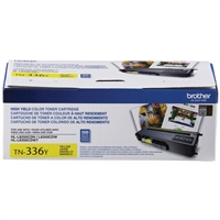 Brother TN336Y High Yield Yellow Toner Cartridge
