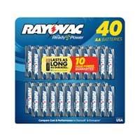 Rayovac AA 40 pack