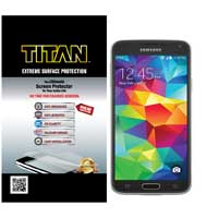 Titan Screen Protectors Extreme Surface Protection for Samsung Galaxy S 5
