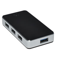 Gear Head Gear Head UH8000AL 4-Port USB 3.1 HUB Aluminium