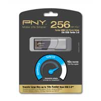 PNY 256GB Turbo 3.0 USB Flash Drive