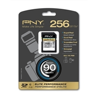 PNY 256GB Class 10 Secure Digital Extended Capacity SDXC Flash Media Card