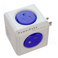 Allocacoc Corp PowerCube Original USB Compact 4 Power Outlets