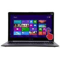 "ASUS VivoBook S500CA-HPD0101N 15.6"" Laptop Computer Refurbished - Silver"
