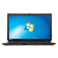"Toshiba Satellite C55-B5290 15.6"" Laptop Computer - Textured Resin in Jet Black"