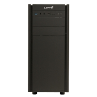 LEPA LPC306 Black ATX Case with Rubberized Coating