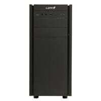 LEPA LPC306 Black ATX Case with Rubberized Coating