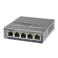 NetGear ProSafe Plus GS105E 5-Port Gigabit Ethernet Switch